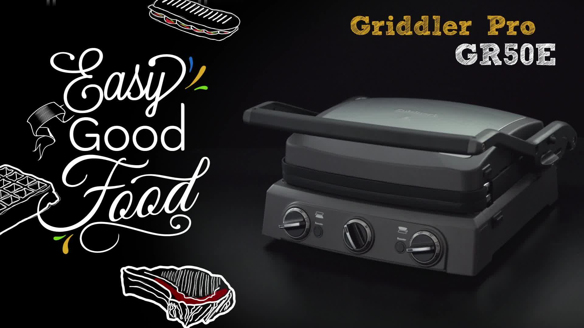 grille viande 4 en 1 cuisinart griddler pro achat prix fnac. Black Bedroom Furniture Sets. Home Design Ideas