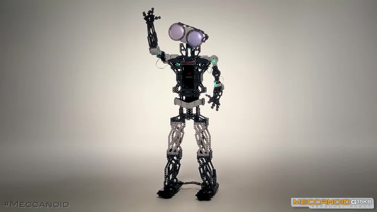 Meccanoid g15ks 1 2 m meccano tech robot interactif robots achat - Pieces detachees meccano ...