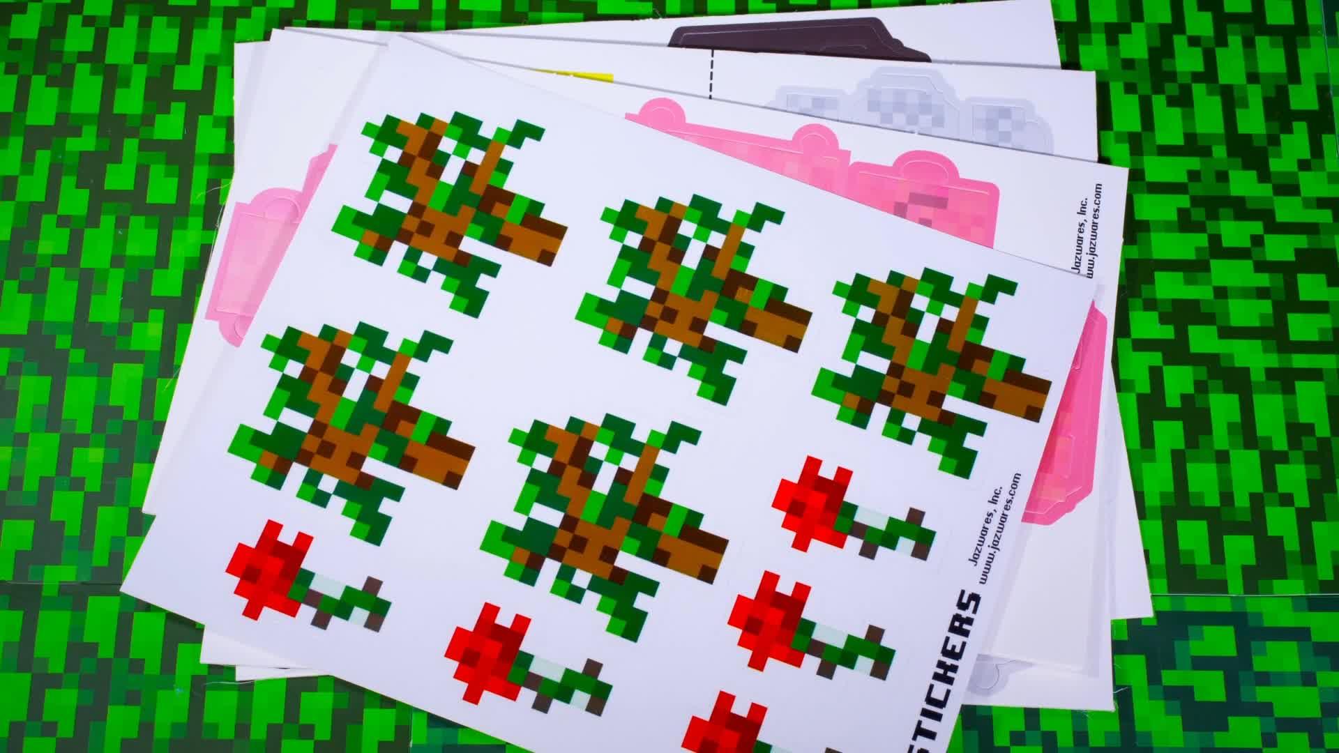 construction papier minecraft 90 pi ces autres jeux de construction achat prix fnac. Black Bedroom Furniture Sets. Home Design Ideas