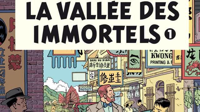 Blake & Mortimer en Chine