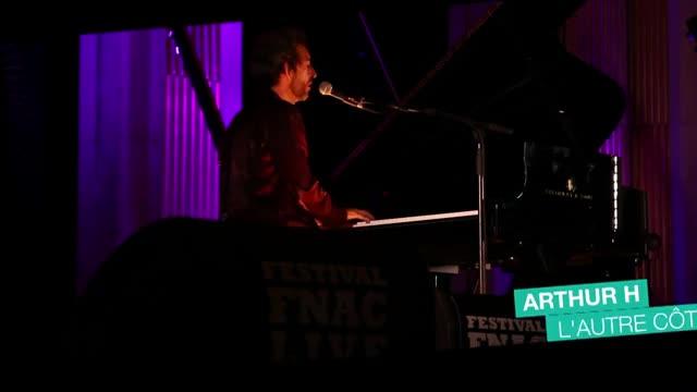 Arthur H - Festival Fnac Live 2014, en vidéo