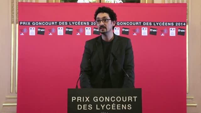 Goncourt Des Lycéens 2014 : David Foenkinos, pour son roman Charlotte