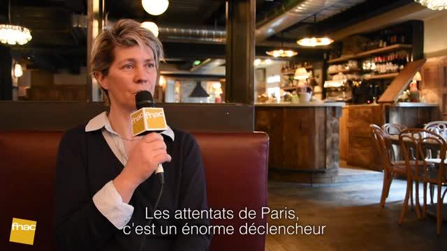 Interview de Sandrine Collette - Les Larmes noires sur la terre