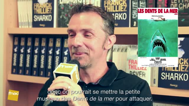 Interview pop culture - Franck Thilliez