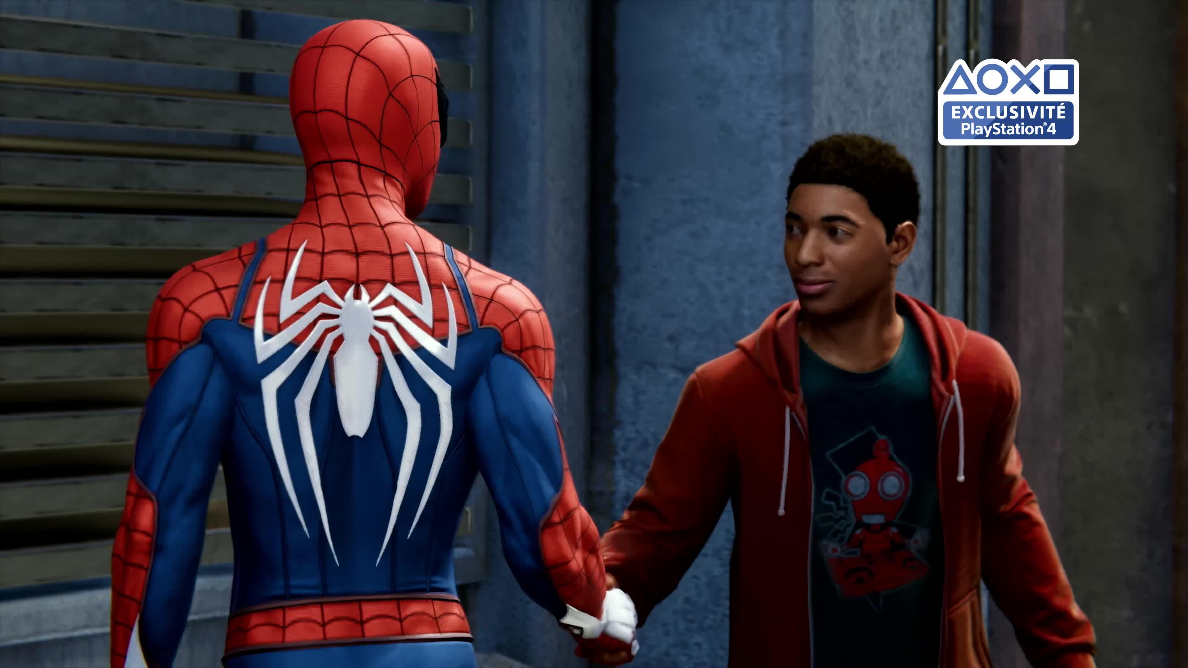 Marvel s spider man ps4 jeux vid o achat prix fnac - Jeux de spiderman 7 ...