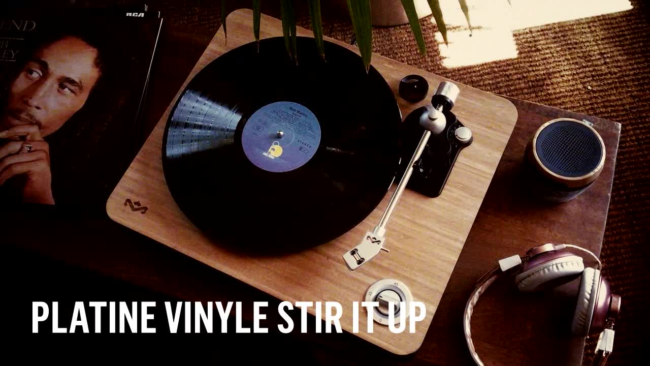 20 sur platine vinyle marley stir it up platine vinyle. Black Bedroom Furniture Sets. Home Design Ideas