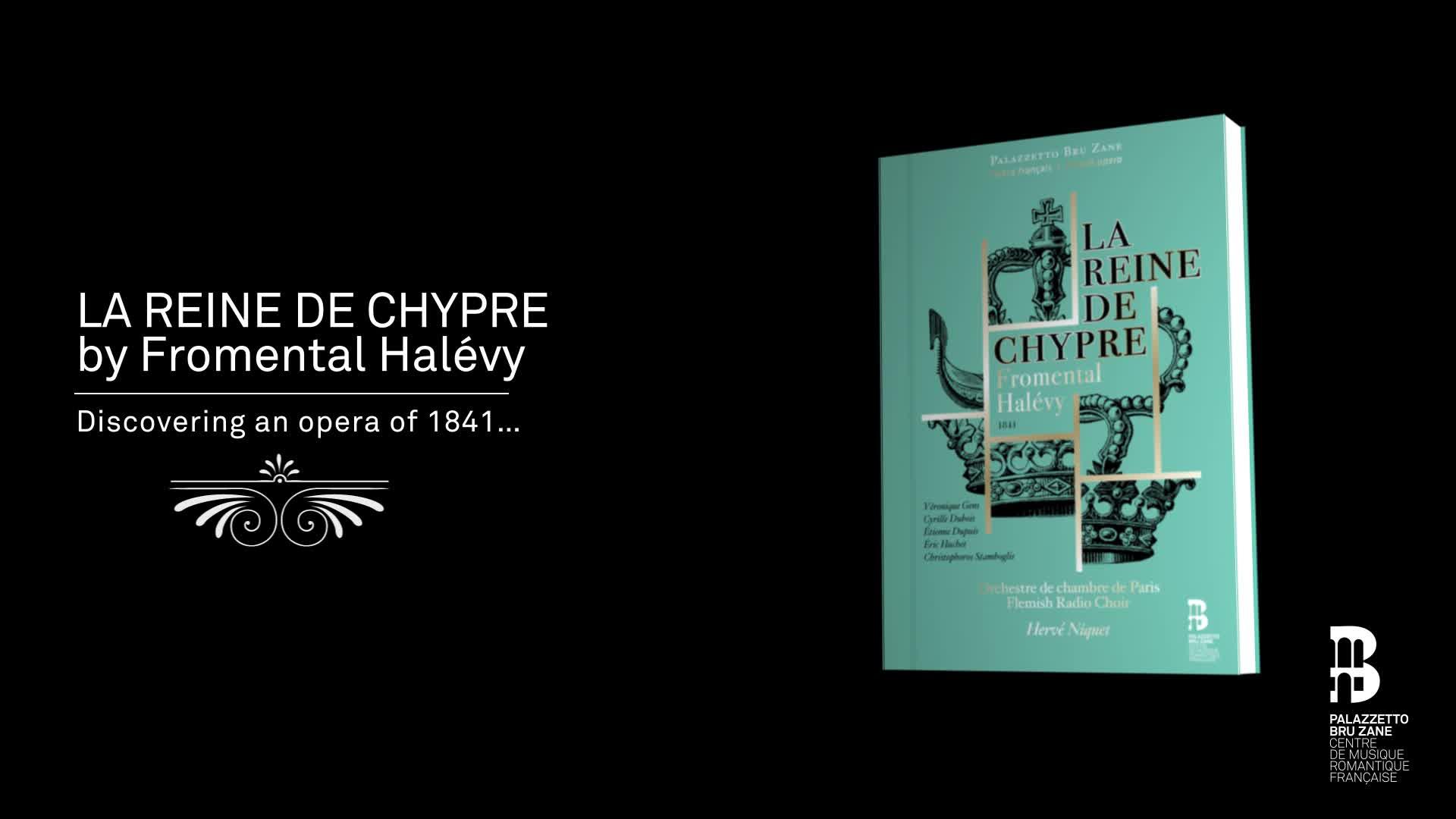 La Reine de Chypre Inclus un livre