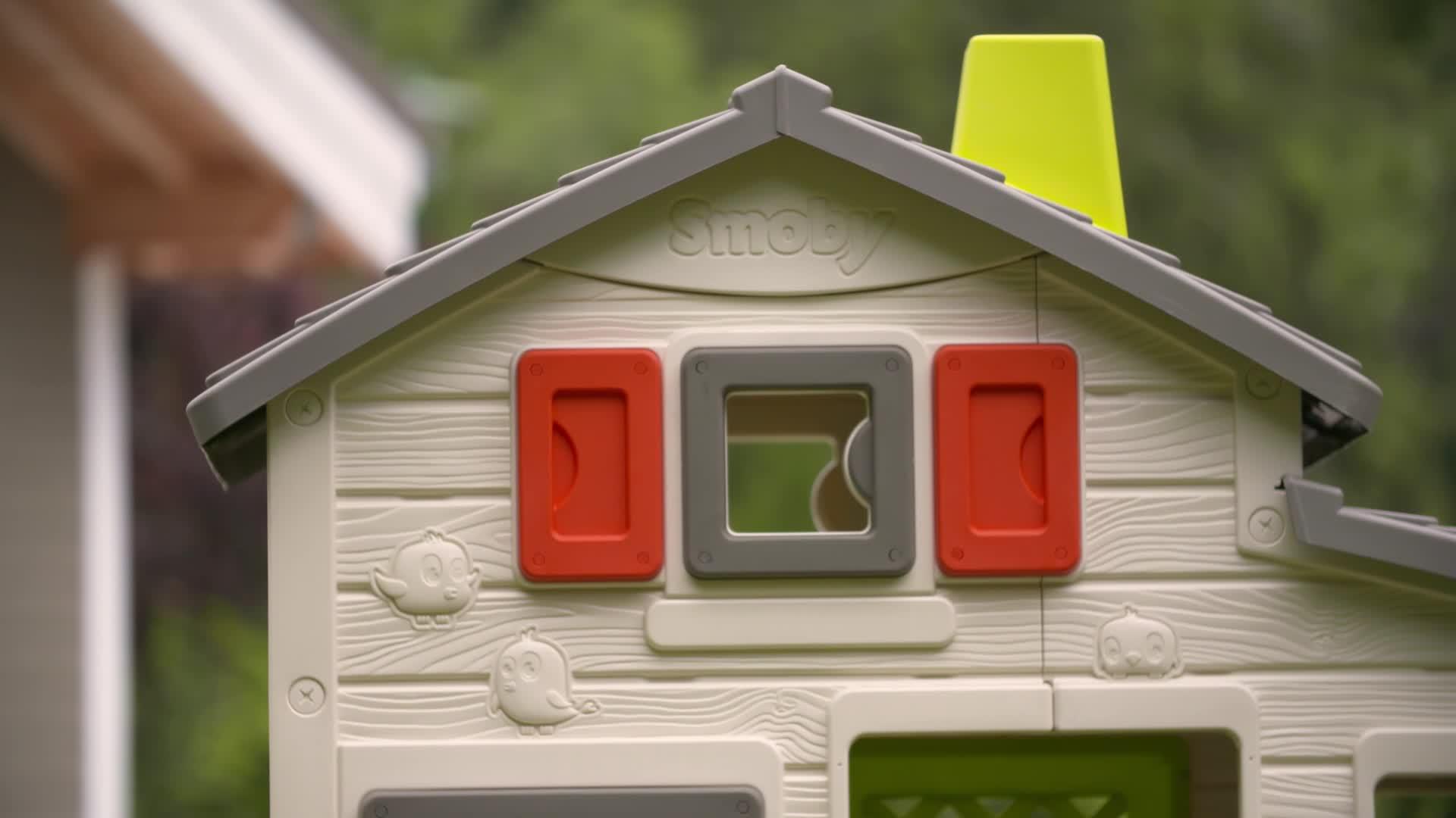 maison friends house smoby avec sonnette incluse maisons de jardin achat prix fnac. Black Bedroom Furniture Sets. Home Design Ideas