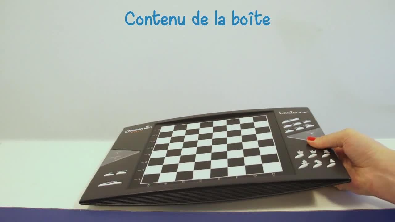 jeu d 39 checs chessman elite lexibook jeux classiques achat prix fnac. Black Bedroom Furniture Sets. Home Design Ideas